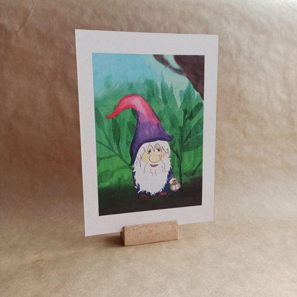 postertje gnome A5